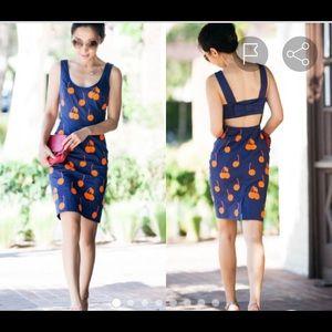 Anthropologie | Liefnotes Cherry Drop Sheeth Dress
